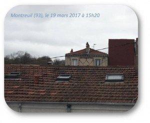 Montreuil, 19 mars Petite