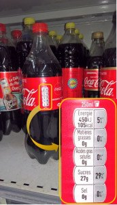 Coca-cola classique 29% de sucre