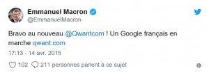 Twit Macron