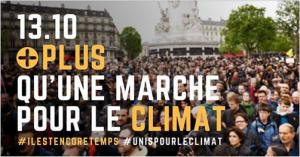 Le 13 octobre, Plus qu'une Marche pour le Climat