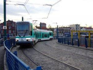 Tramway ligne T1 - Pont de Bondy