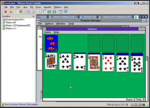 Windows 3.1 Solitaire