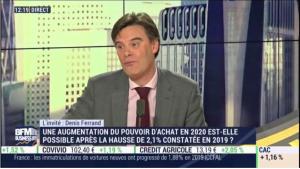 2020 sera marquée par la baisse des investissements et la hausse de la consommation