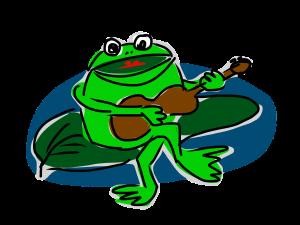 Sympa la grenouille !