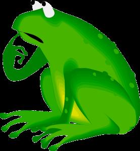 La grenouille !