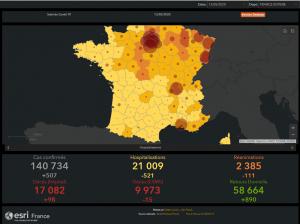 Suivi du Coviv-19 en France au 13 mai 2020