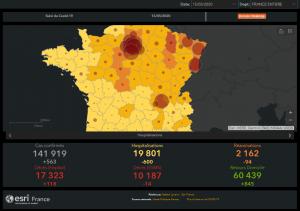 Suivi du Coviv-19 en France au 15 mai 2020