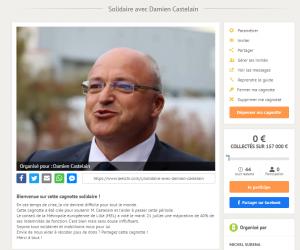 Solidaire avec Damien Castelain