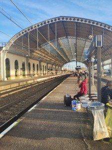 Le quai de la gare de Montauban Ville Bourbon